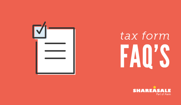 Tax Forms FAQ's