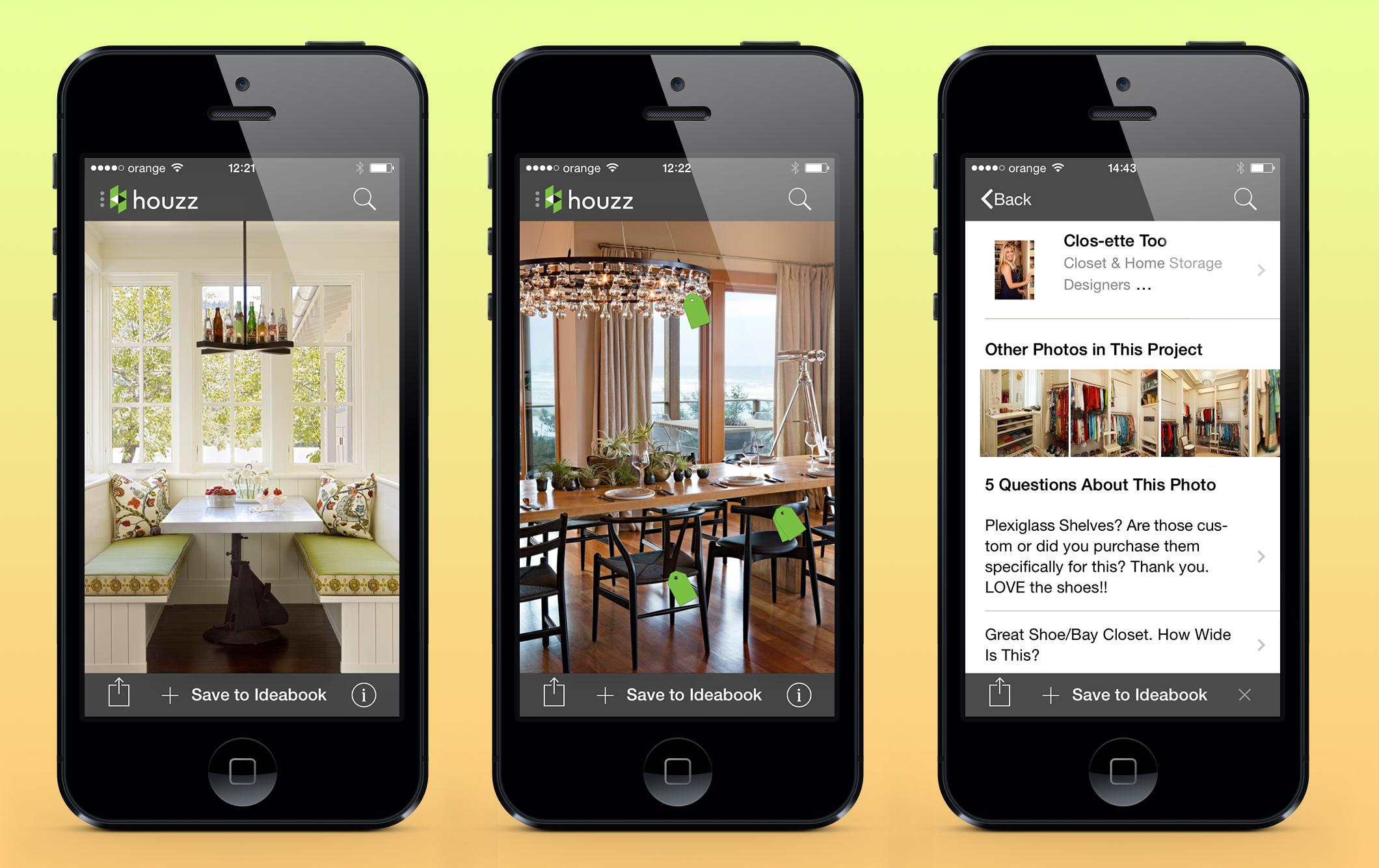 Houzz Interior Design Ideas  Decoration app. 3 mobile apps for home improvement