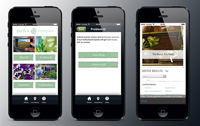 3 Gardening Apps Thinslices