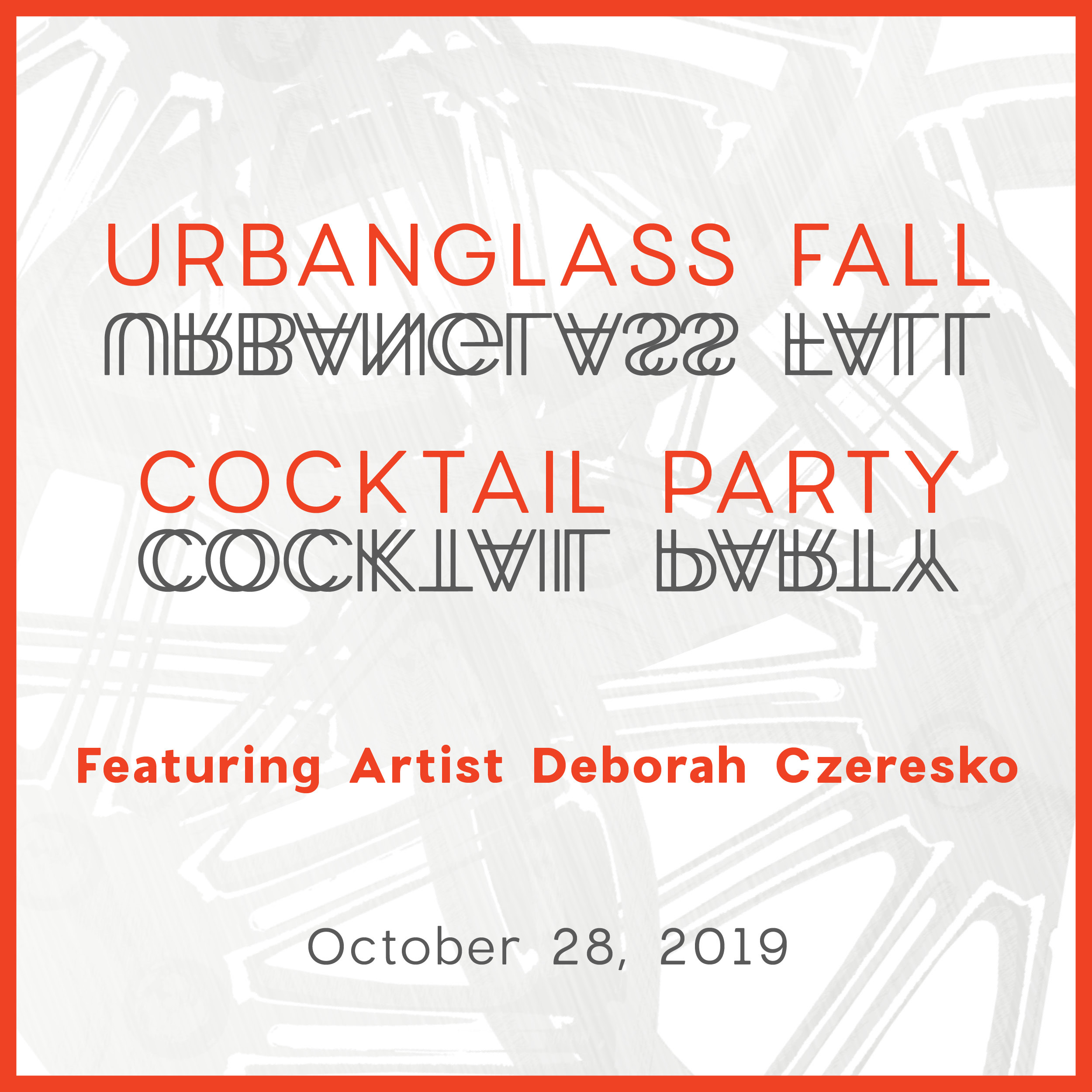 2019 Fall Cocktail Party | UrbanGlass
