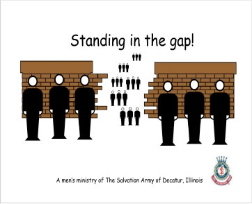 standing in the 