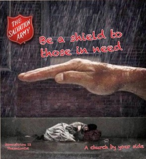 Great image from one of our fellow Salvation Army units
