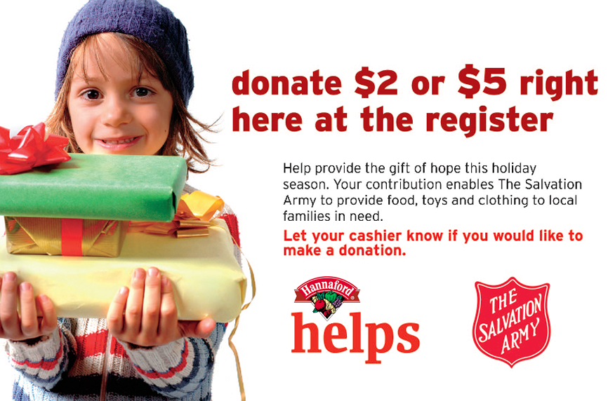 Funds Raised Through This Effort Allow The Salvation Army To Provide  Holiday Assistance, Food,