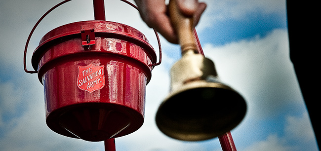 Red Kettle and bell