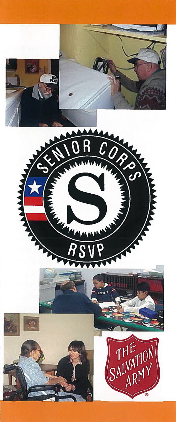 The Salvation Army RSVP Program for Senior Citizens