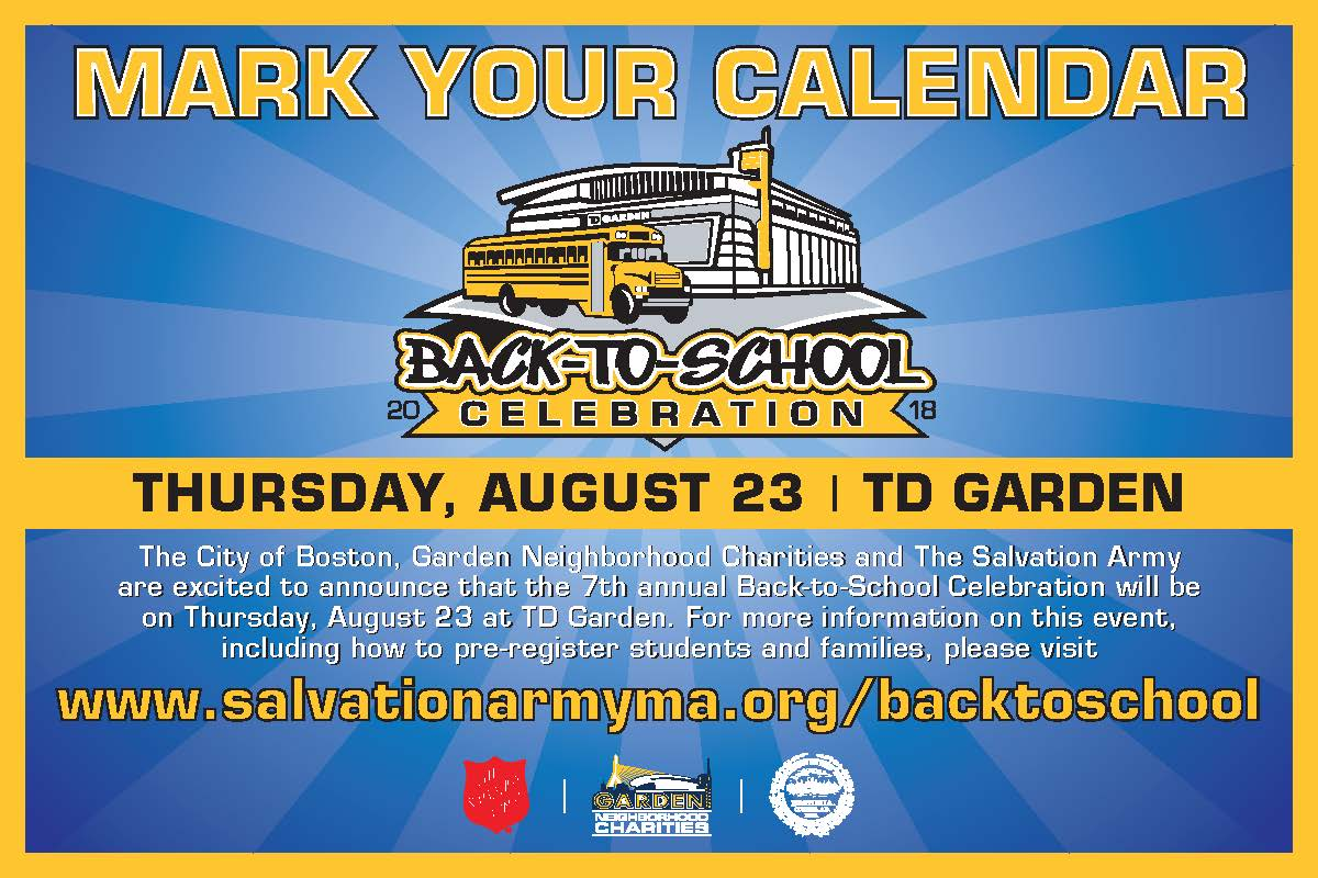 Massachusetts Division Back To School Celebration