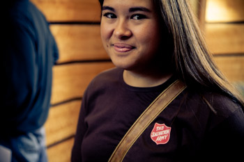 Volunteer at  The Salvation Army