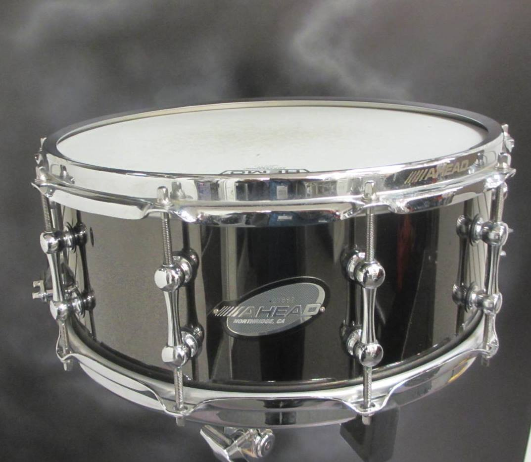 Ahead - 6x14 Black on Brass Snare Drum