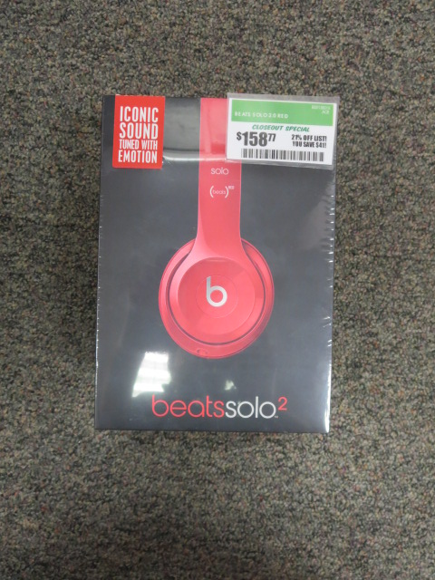 Monster - Beats Solo 2.0 Red
