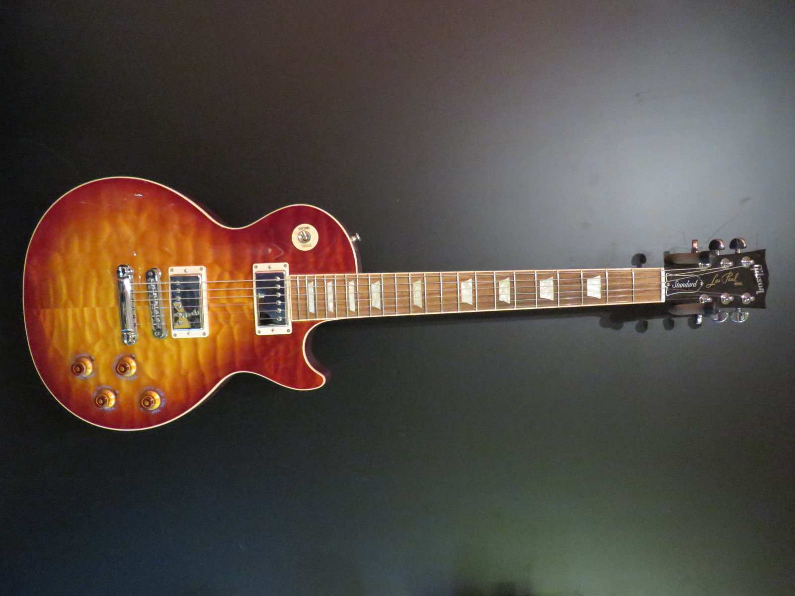 Used Gibson Les Paul Standard Premium Quilt Top