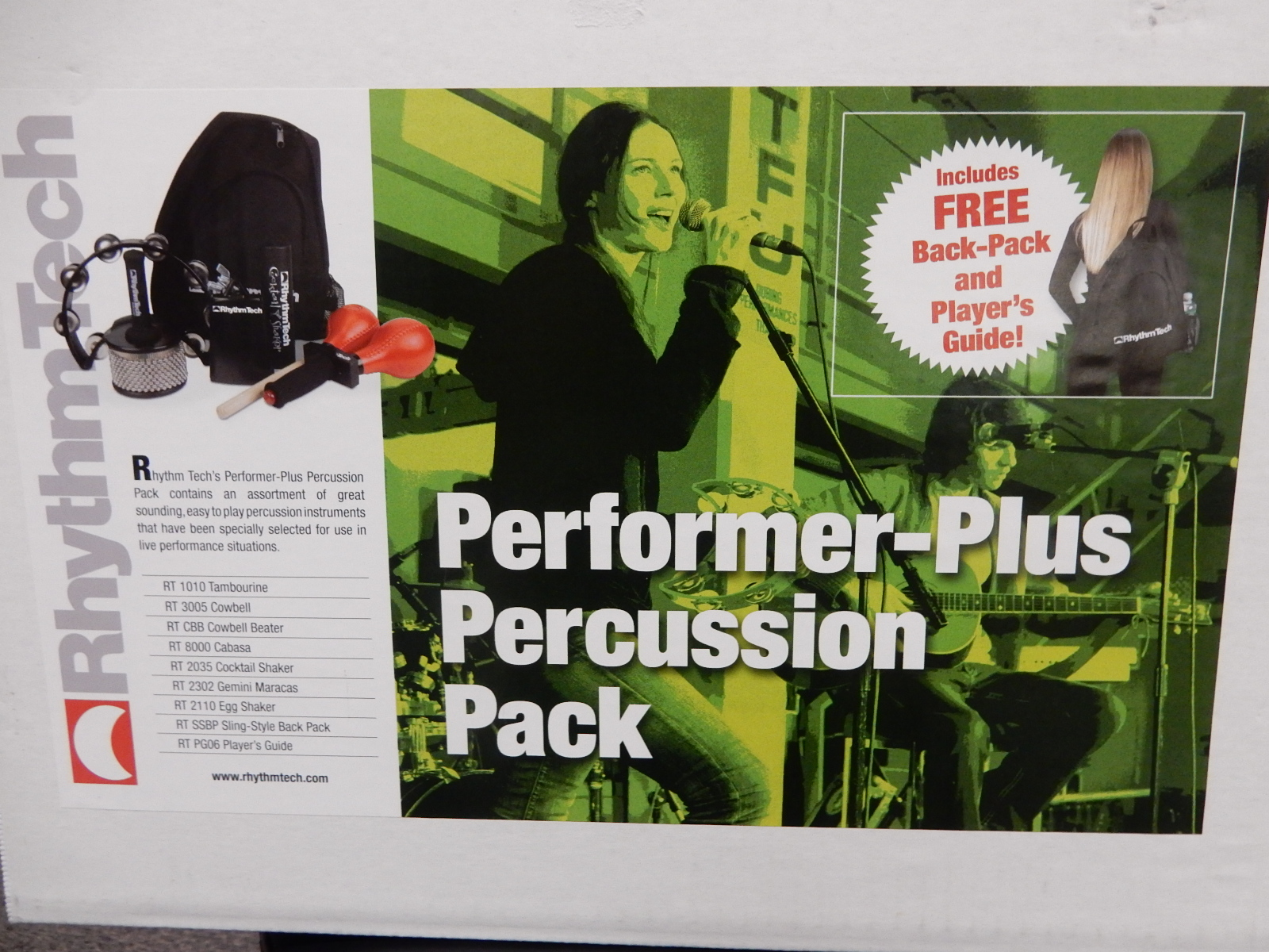 Rhythm Tech - Performer-Plus Percussion Pack
