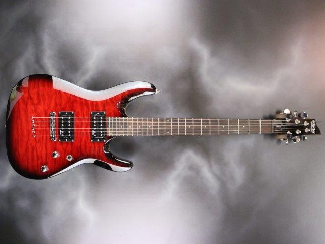 Schecter - C-6 Plus Cherry Burst