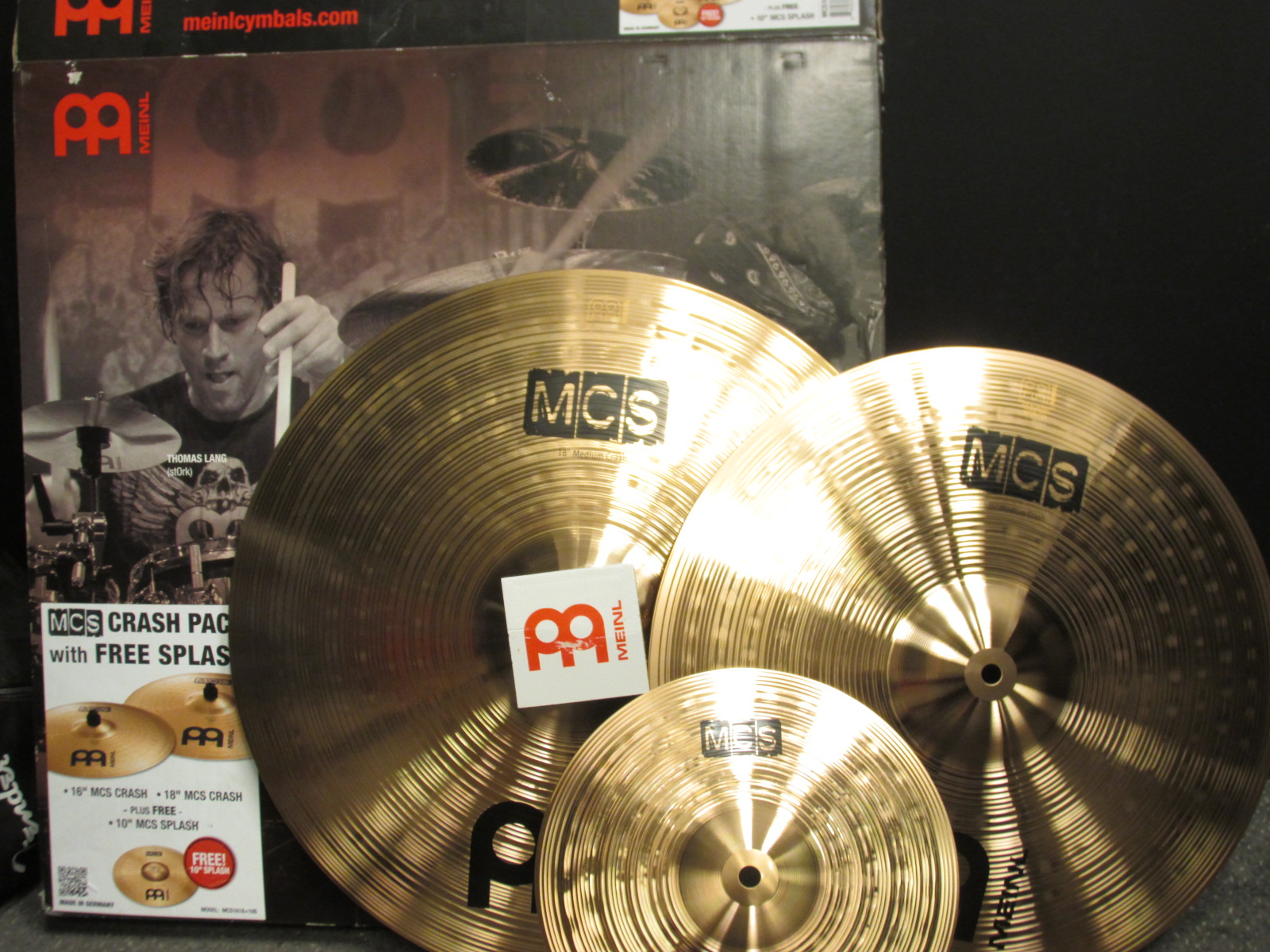 Meinl - MCS Crash Pack