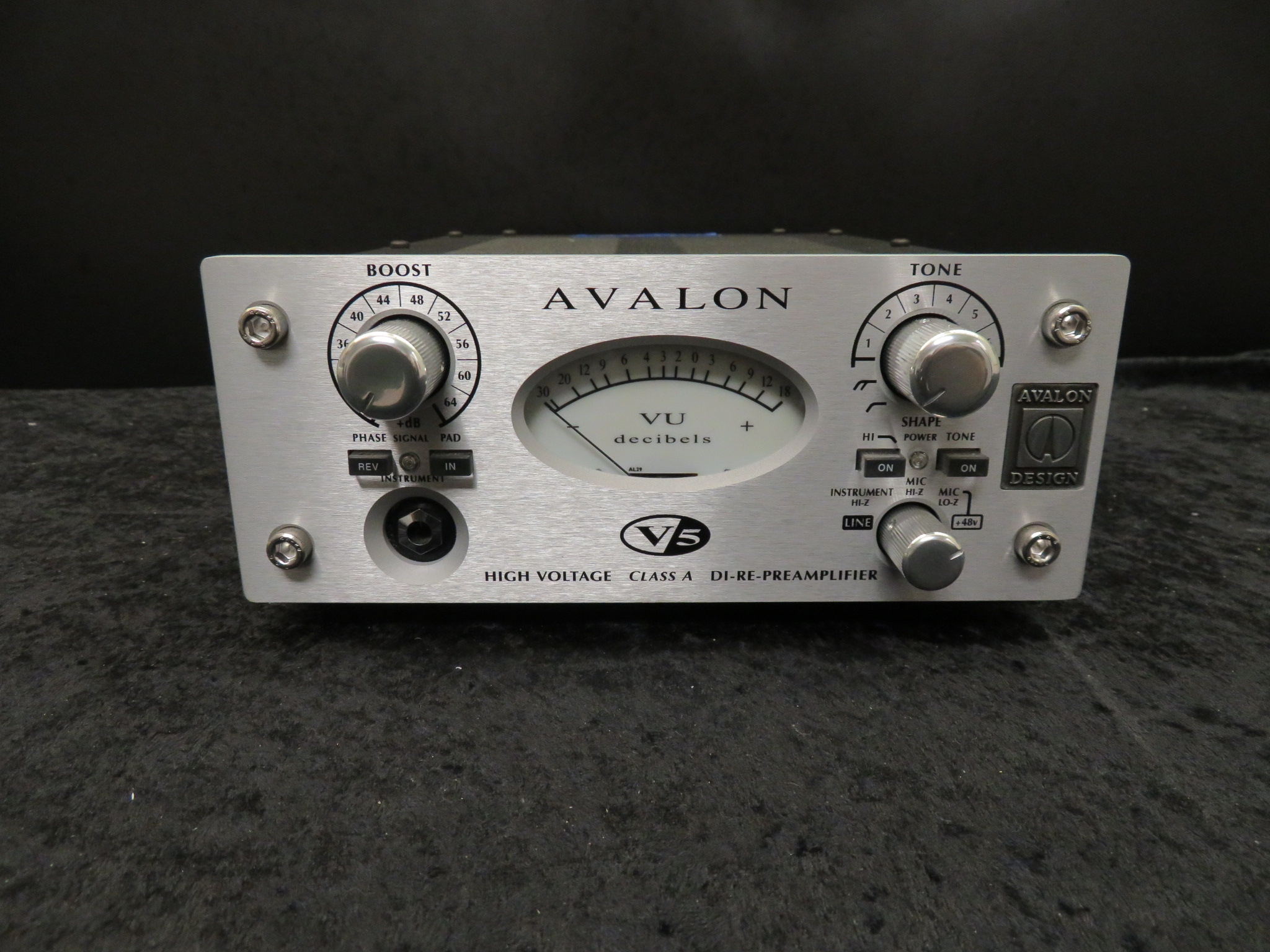 Avalon - V5 Mic/Instrument Preamp