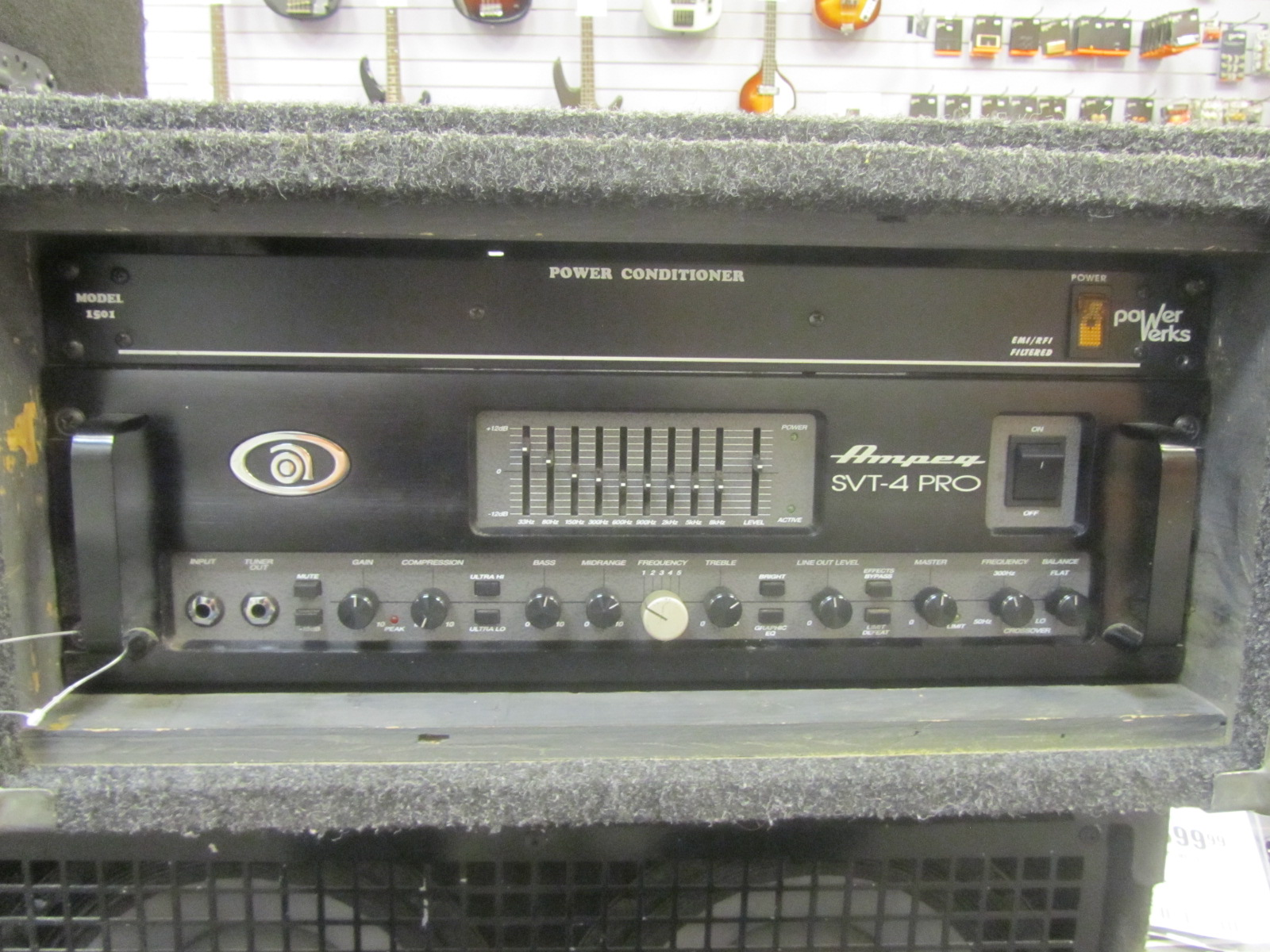 Ampeg - SVT‑4 PRO Series Bass Head