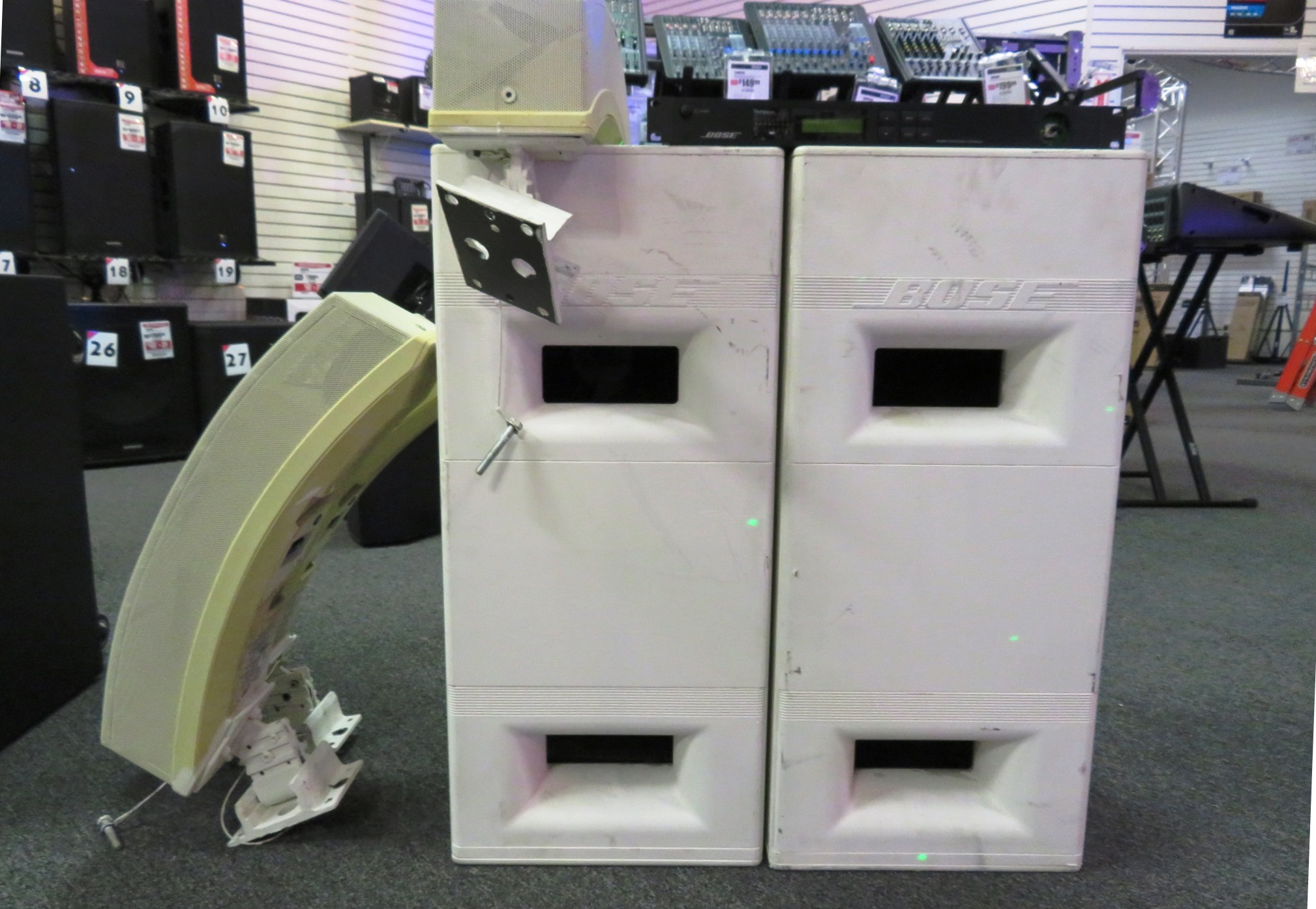 - Bose Panaray System w/ Subs and Controller