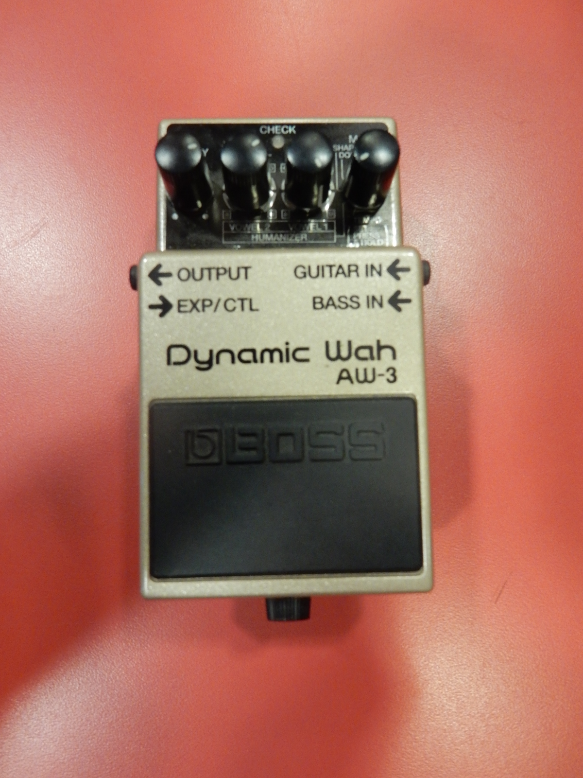 Boss - AW-3 Auto Wah Pedal