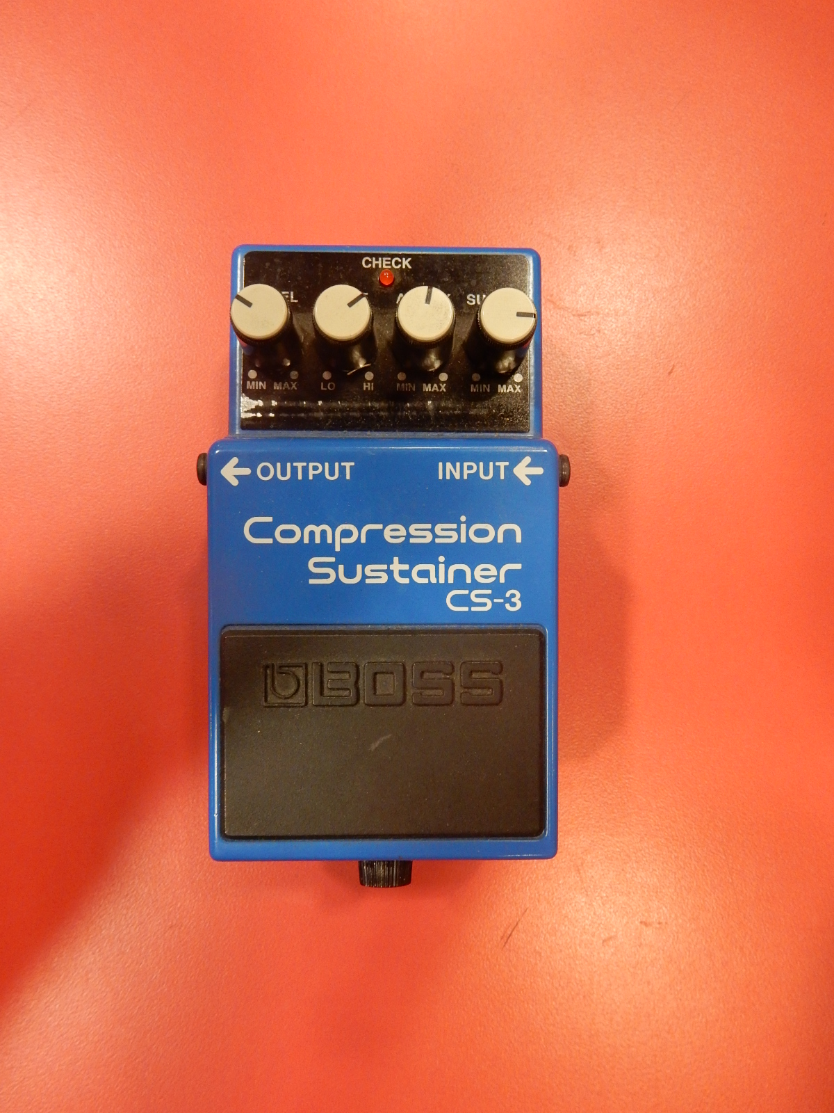 Boss - CS-3 Compression Sustainer pedal