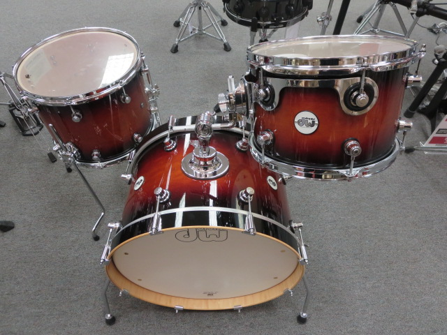 Drum Workshop - Frequent Flyer 3 piece shell pack