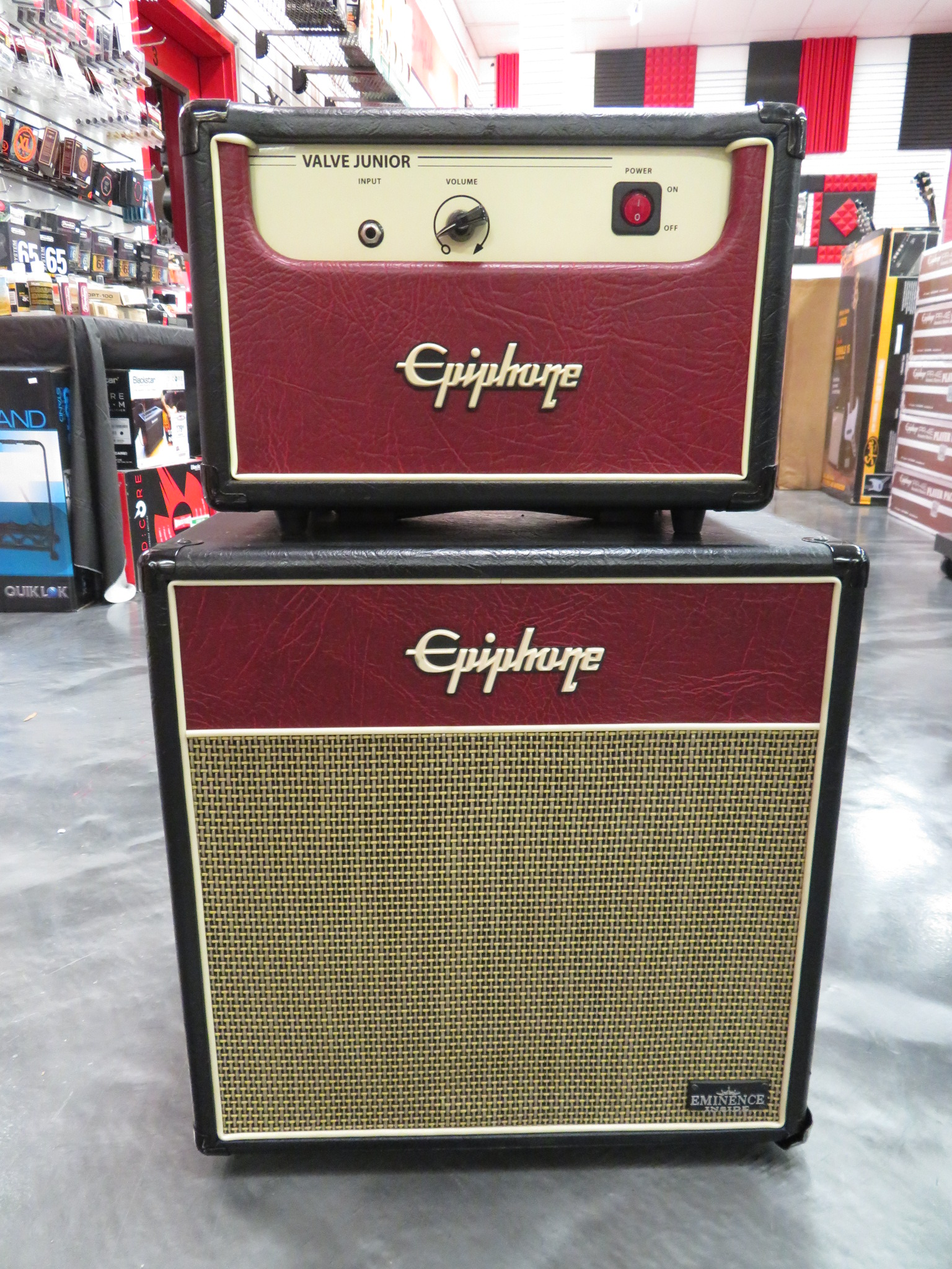 Epiphone - Valve Jr. Head and Matching Cab