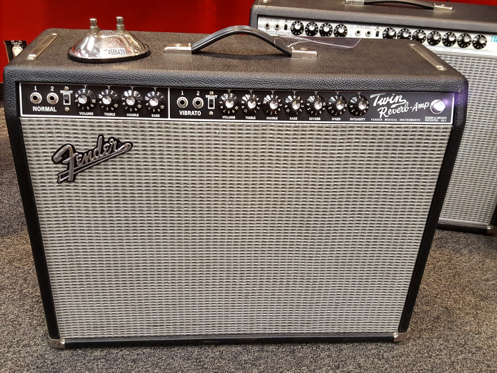 Fender - 65 Twin Reverb Reissue w/ Cover, FTSW