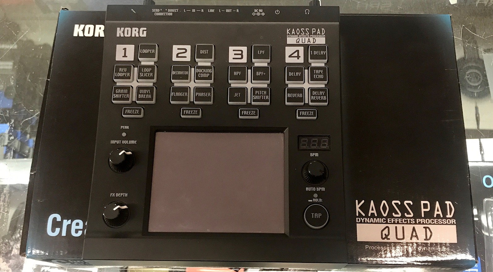 Korg - Kaoss Pad Quad