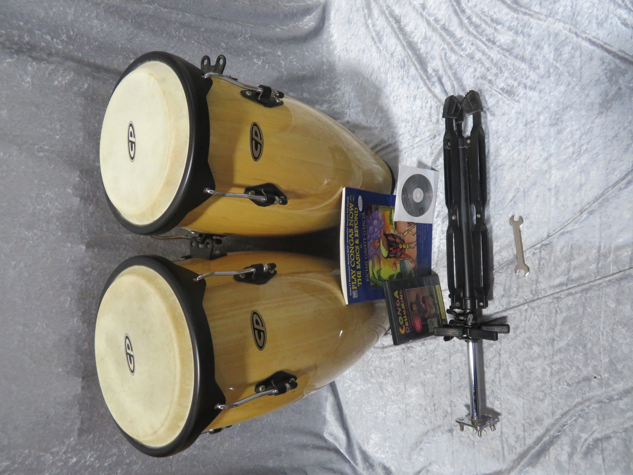 Latin Percussion - CP Conga Set with Stand, Book, and DVD