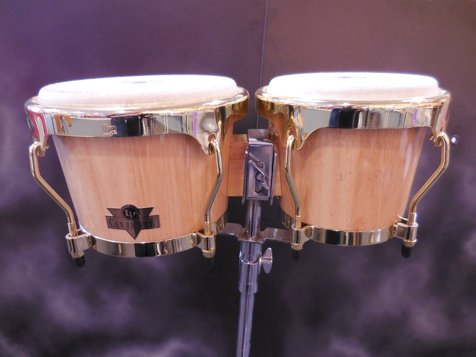 Latin Percussion - CALIENTE BONGOS w/ stand