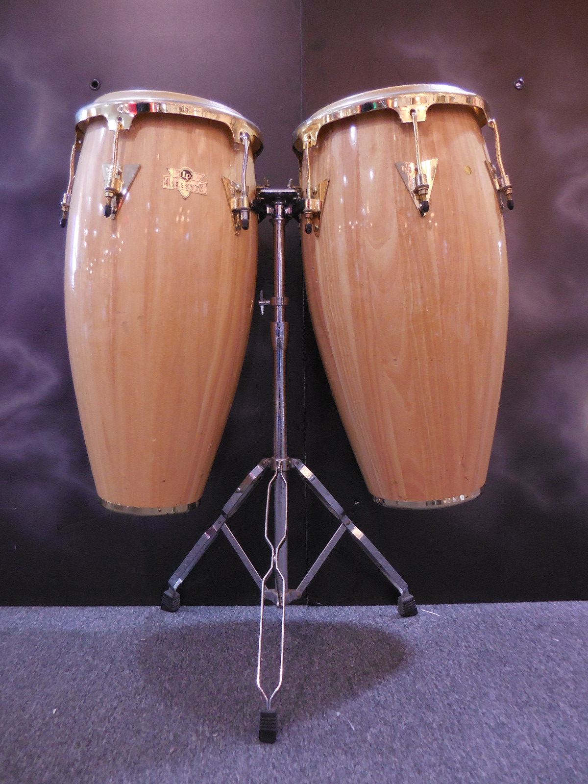 Latin Percussion - CALIENTE CONGAS w/stand