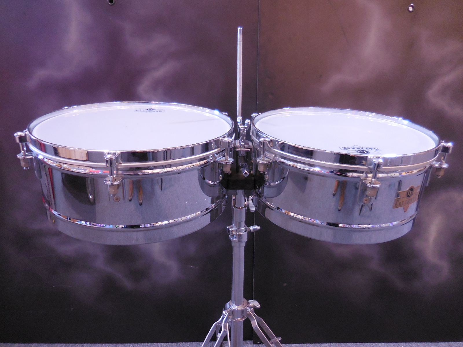 Latin Percussion - CALIENTE TIMBALES w/ stand