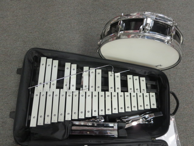 Pearl - Snare and Bell kit