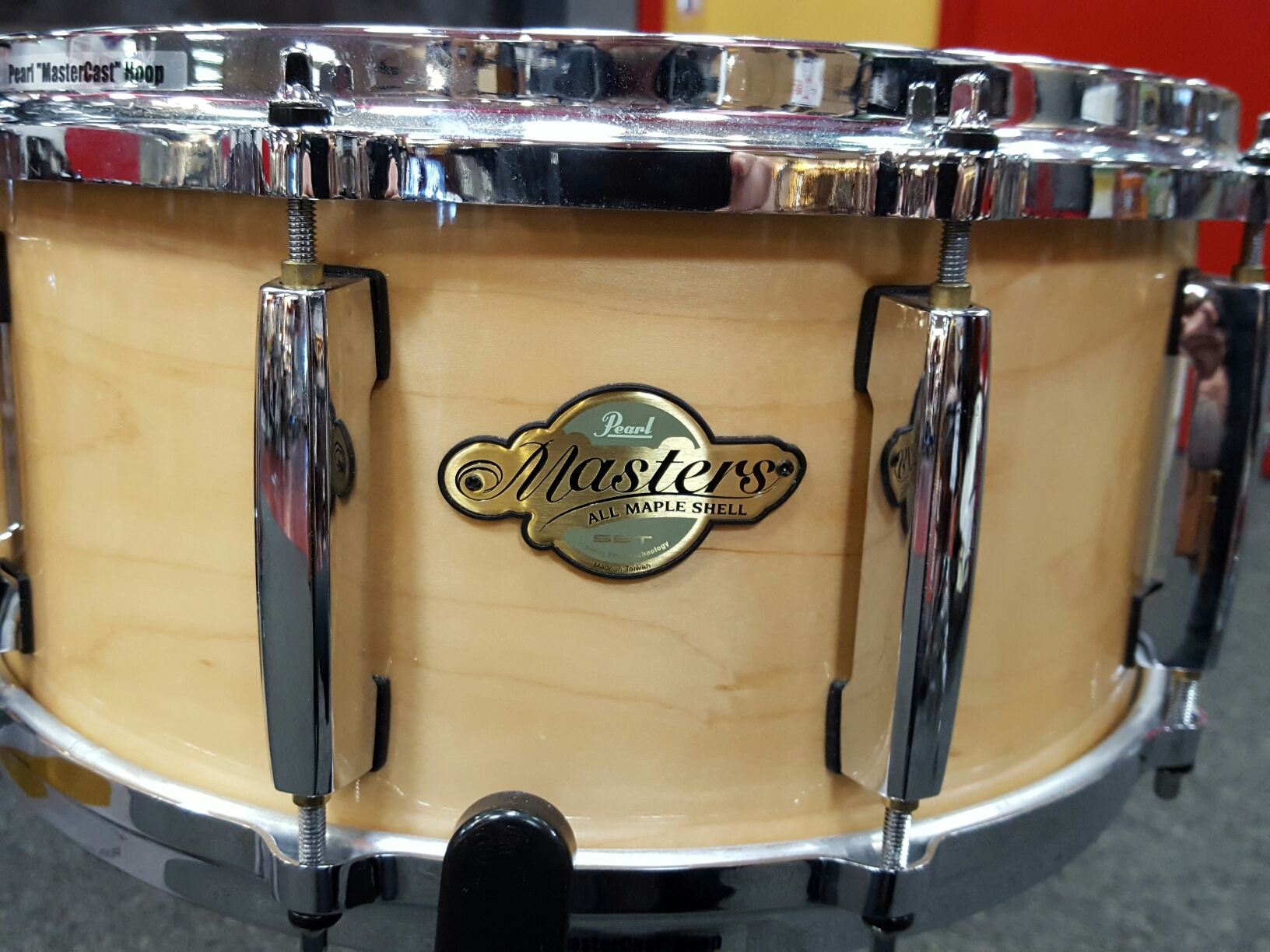 Pearl - Masters Snare 14x7 All Maple W/Case