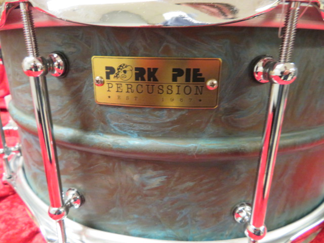 Pork Pie - Patina Brass