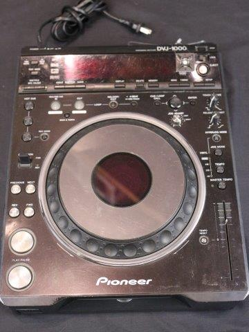 Pioneer - DVJ-1000 CD/DVD Turntable