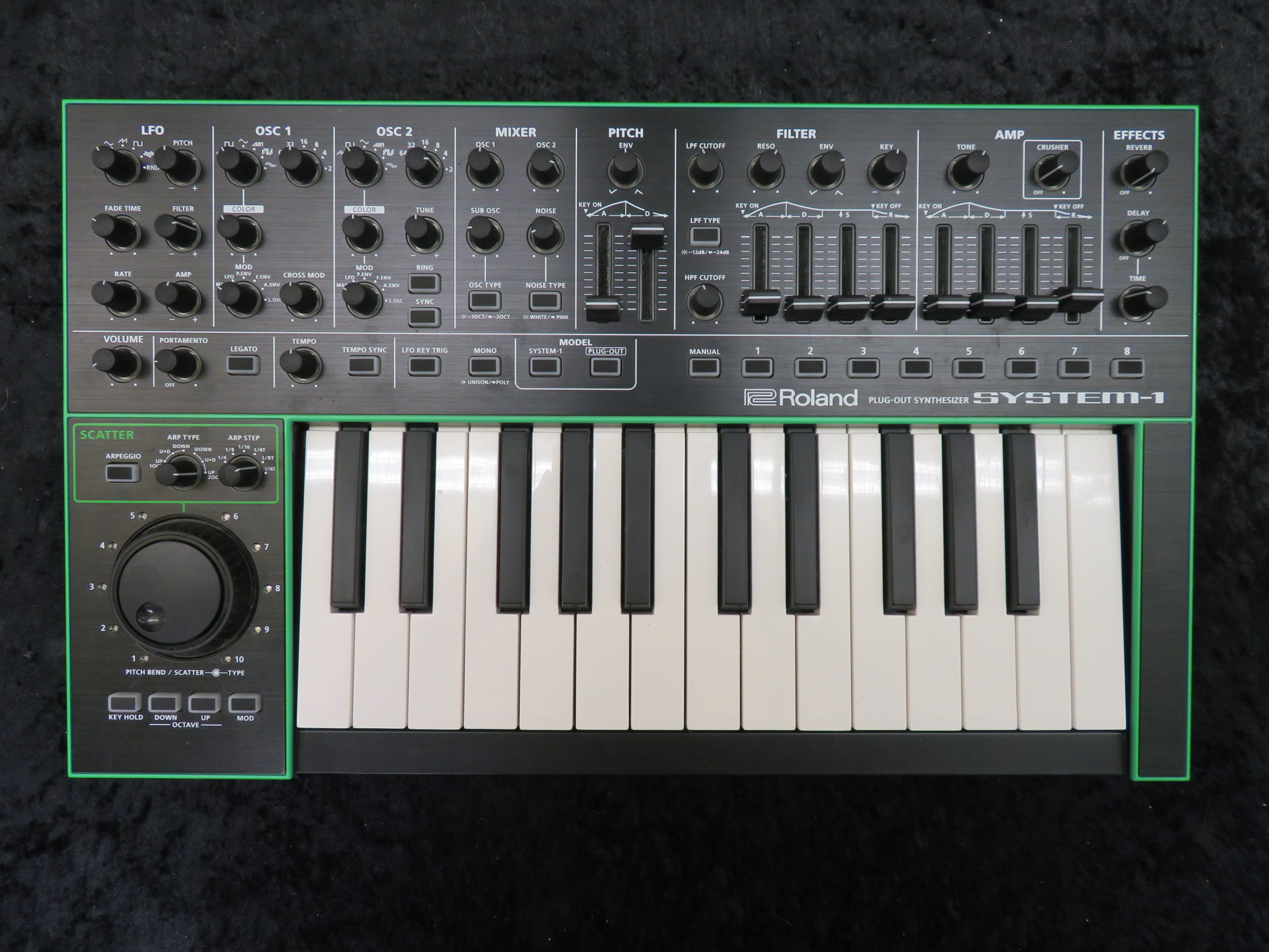 Roland - AIRA Series System-1 25-Key Variable Synthesizer