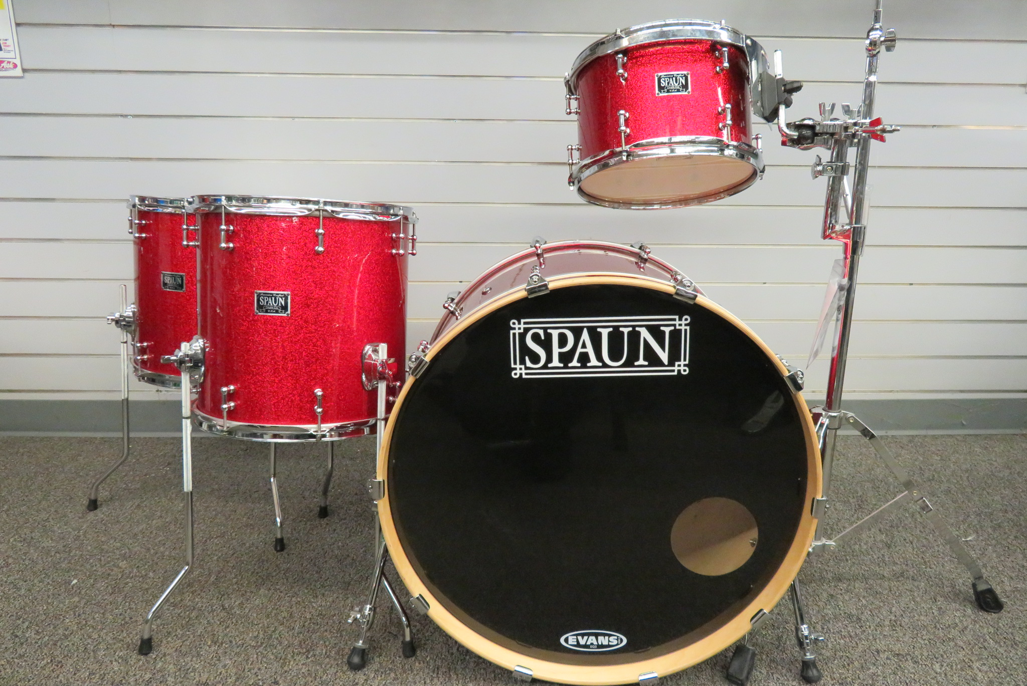 Spaun - 4pc Maple Custom
