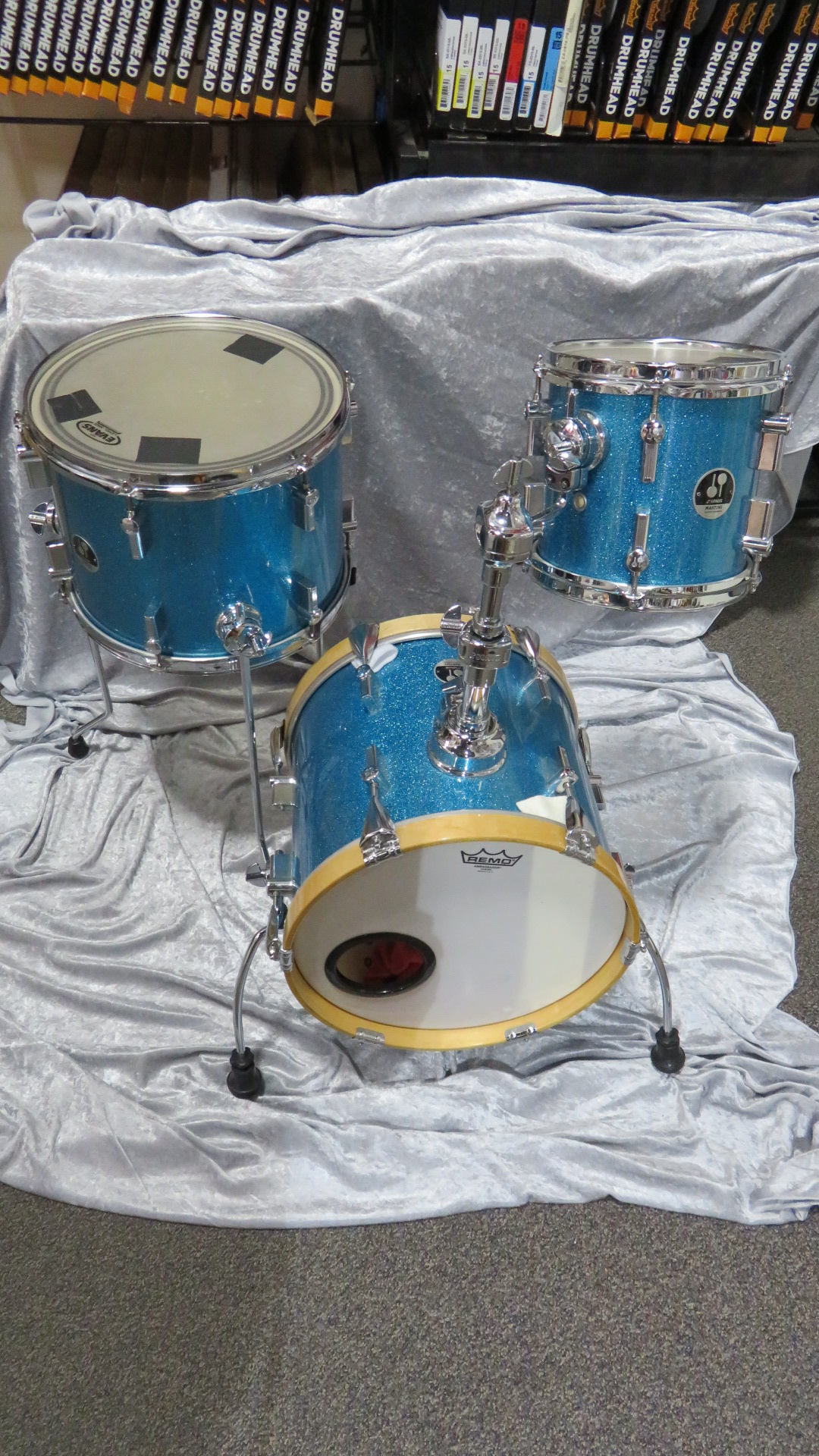 Sonor - Martini 3 Piece Shell set with bags