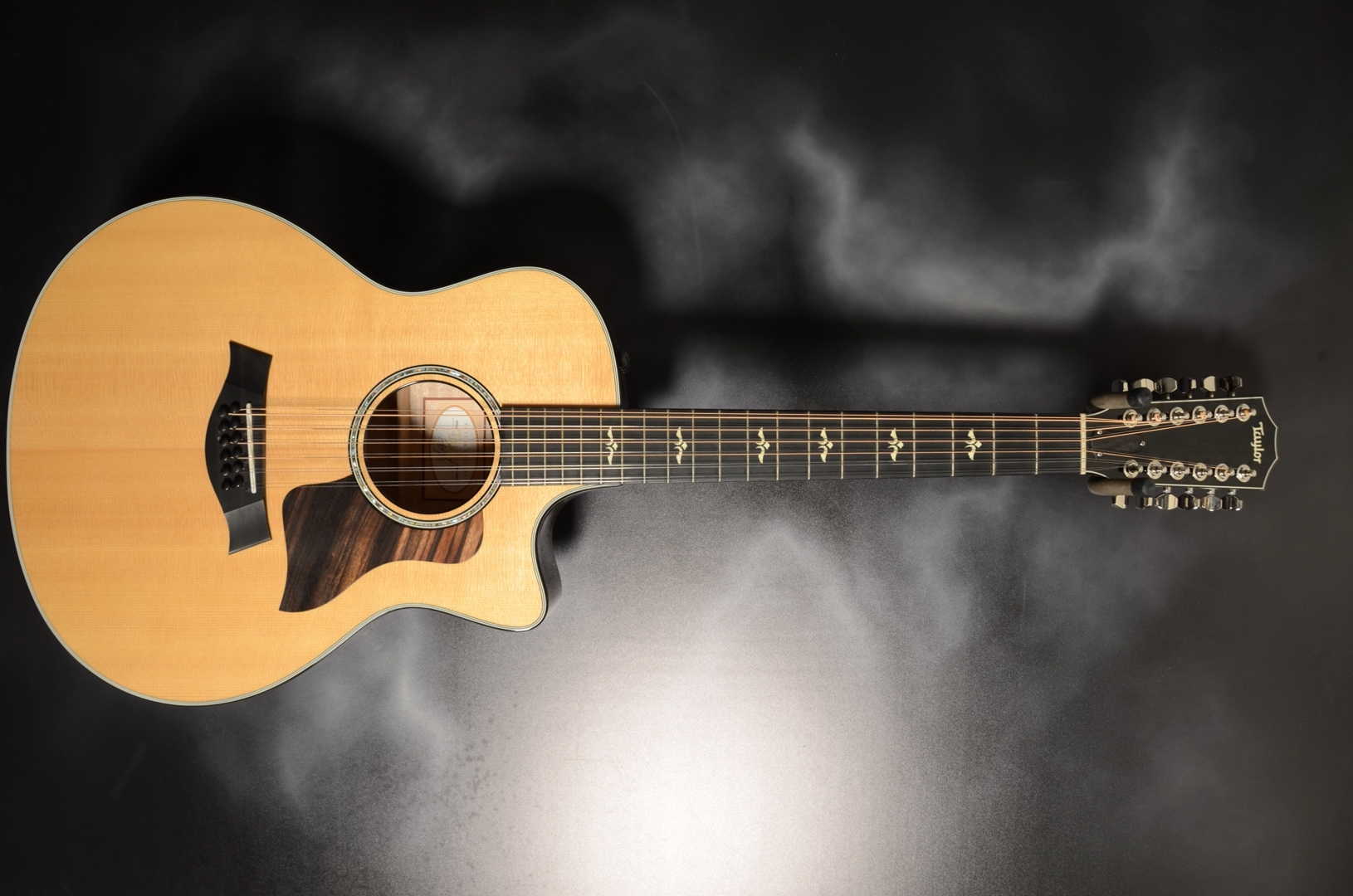 Taylor - 2015 656CE Maple Grand Symphony 12-String Acoustic