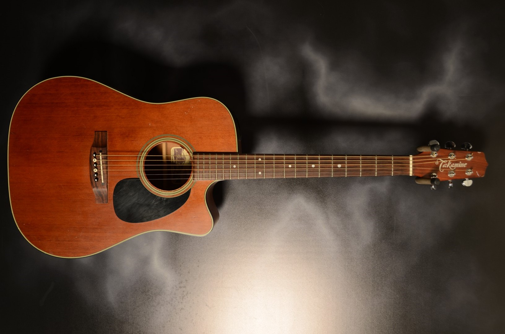 Takamine - 2011 EF340SCGN Acoustic Electric All Mahogany Guit