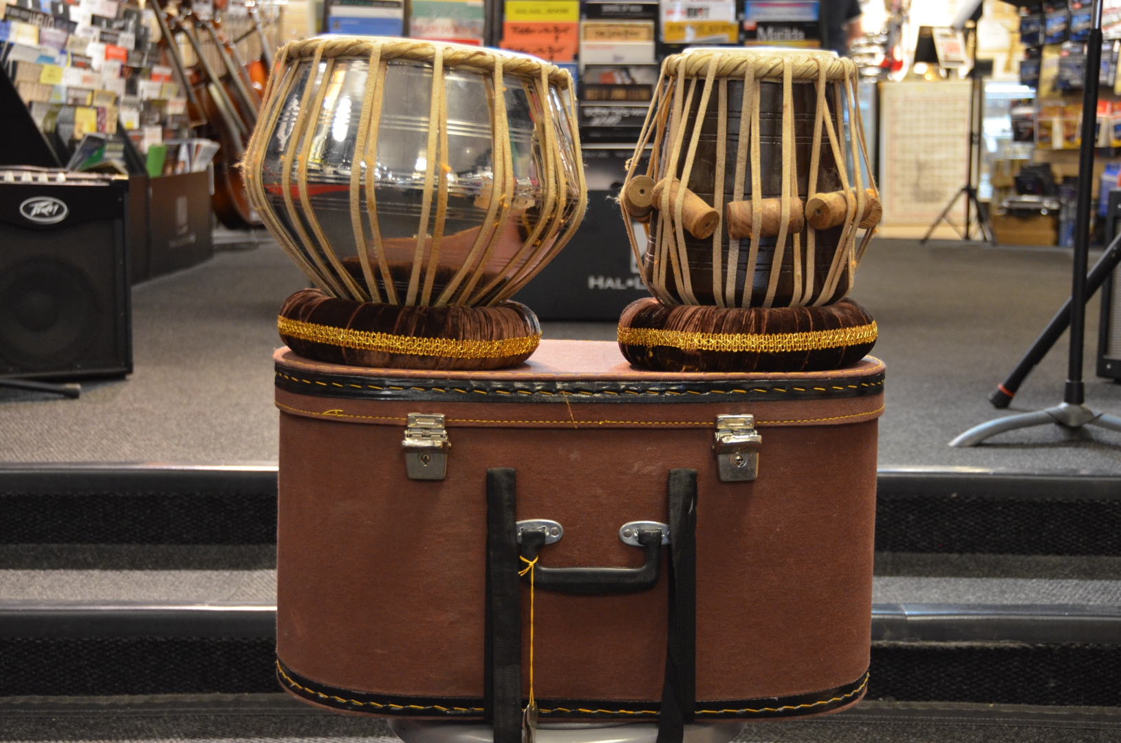 - Authentic Indian Tabla Drums