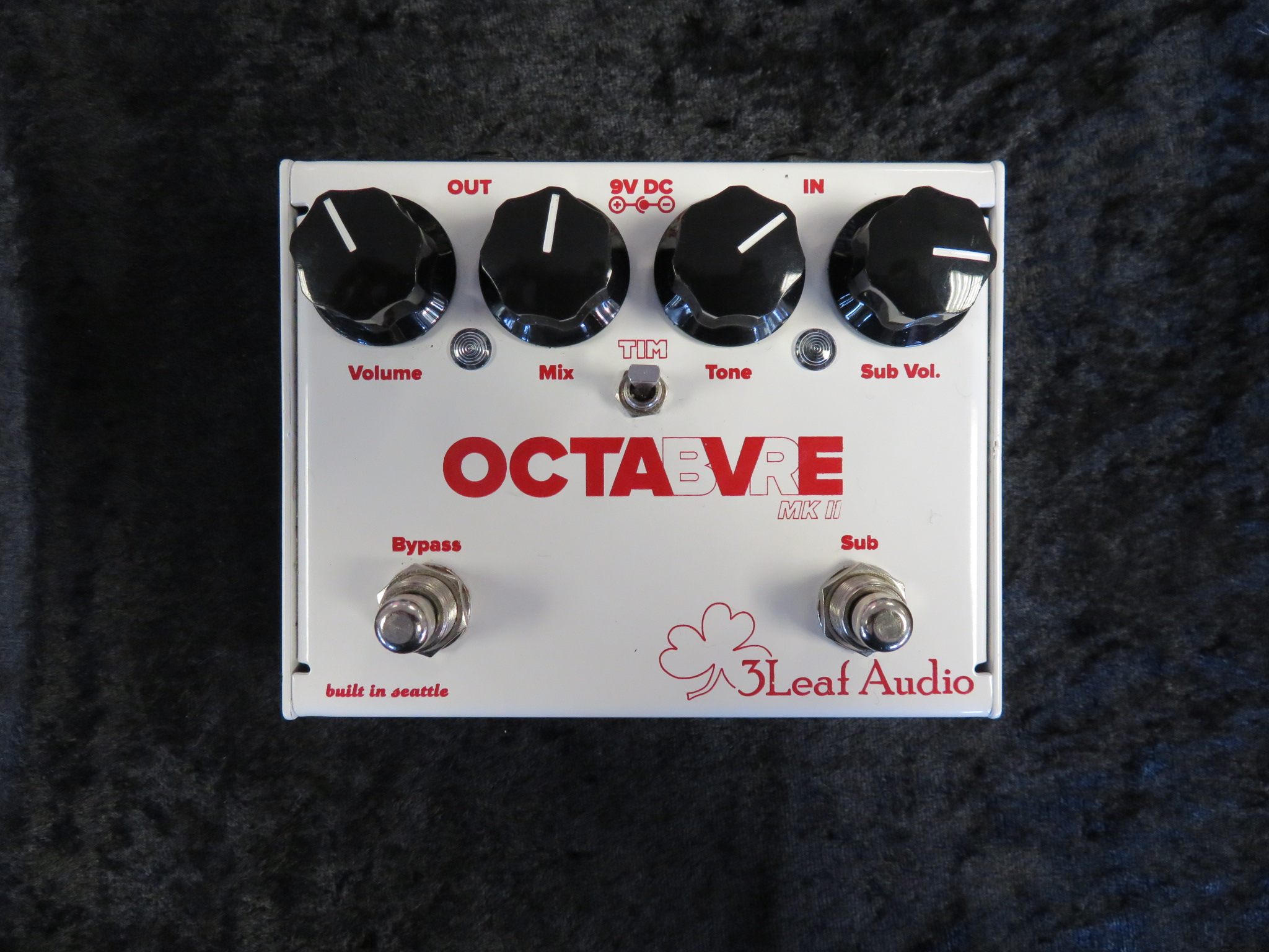 3 Leaf Audio - Octabvre MKII Dual Mode Octaver Pedal