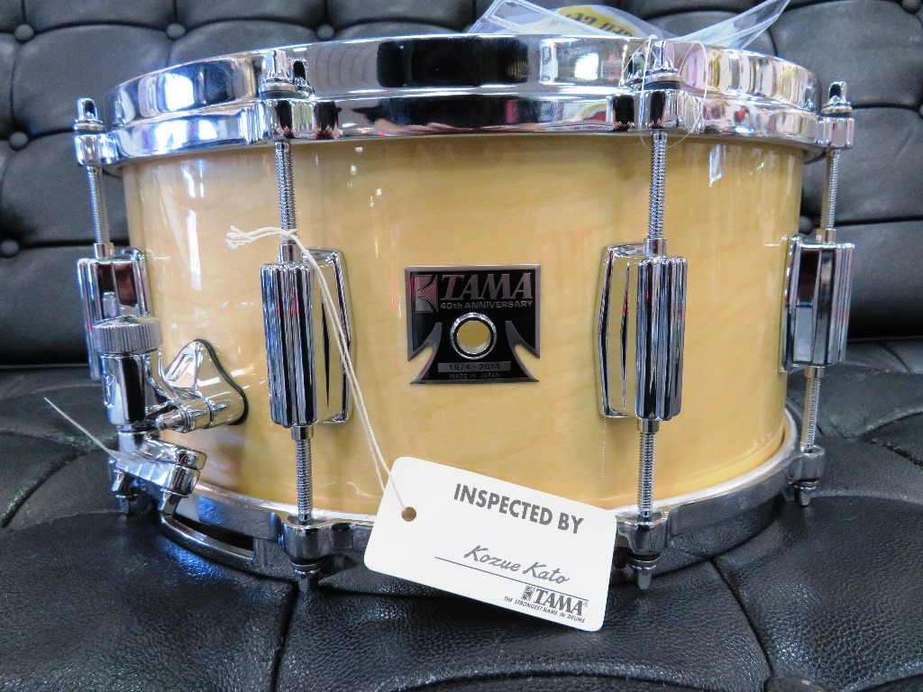 Tama - 40th Anniversary Limited Edition 6.5x14 Snare (Nat