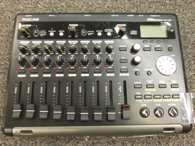 Used Tascam DP-03