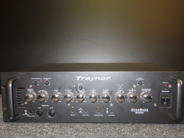 Used Traynor 800H DYNABASS