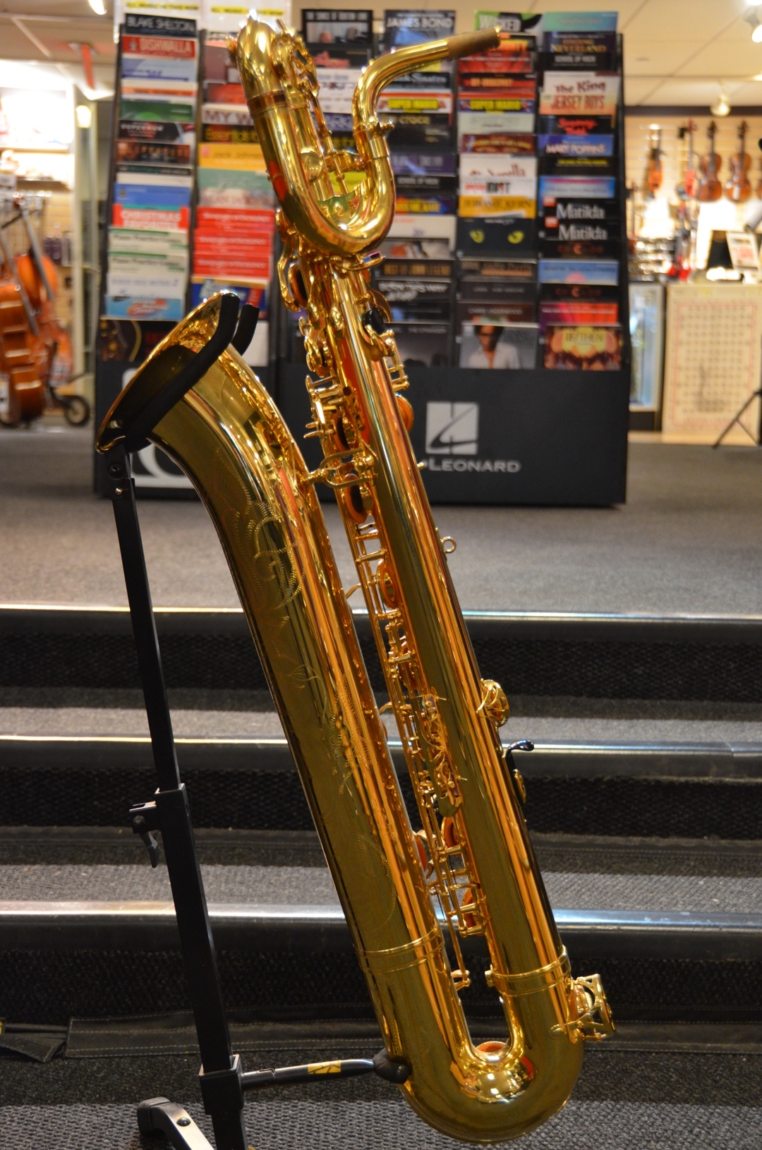 Yamaha - YBS-62 Pro Bari Sax With Low A