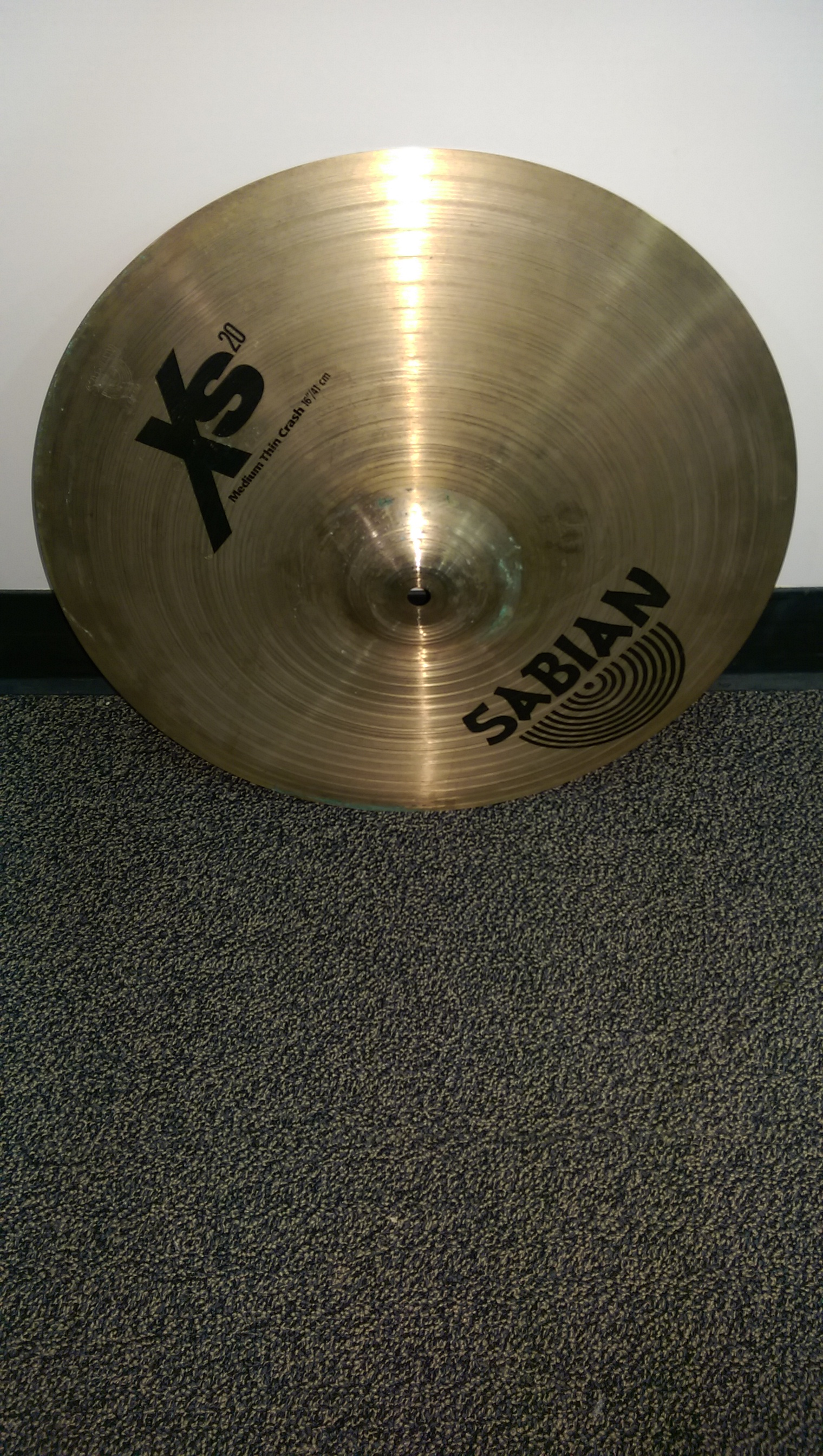 Sabian - sabian xs20 medium thin crash 16