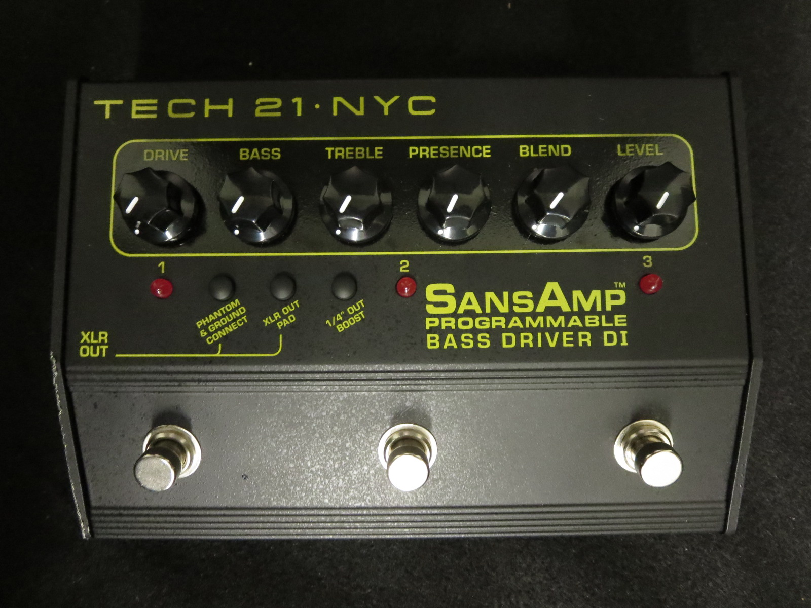 Tech 21 - Programmable Bass DI