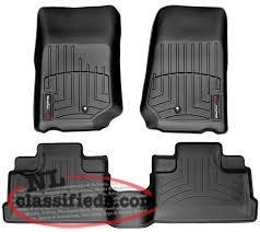 soft top for 4 door jeep wranlger and set of weather tech