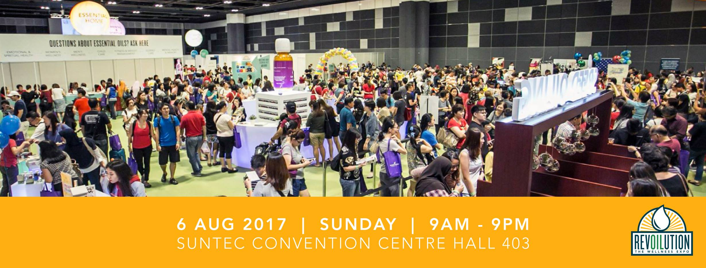 Young Living RevOILution Wellness Expo