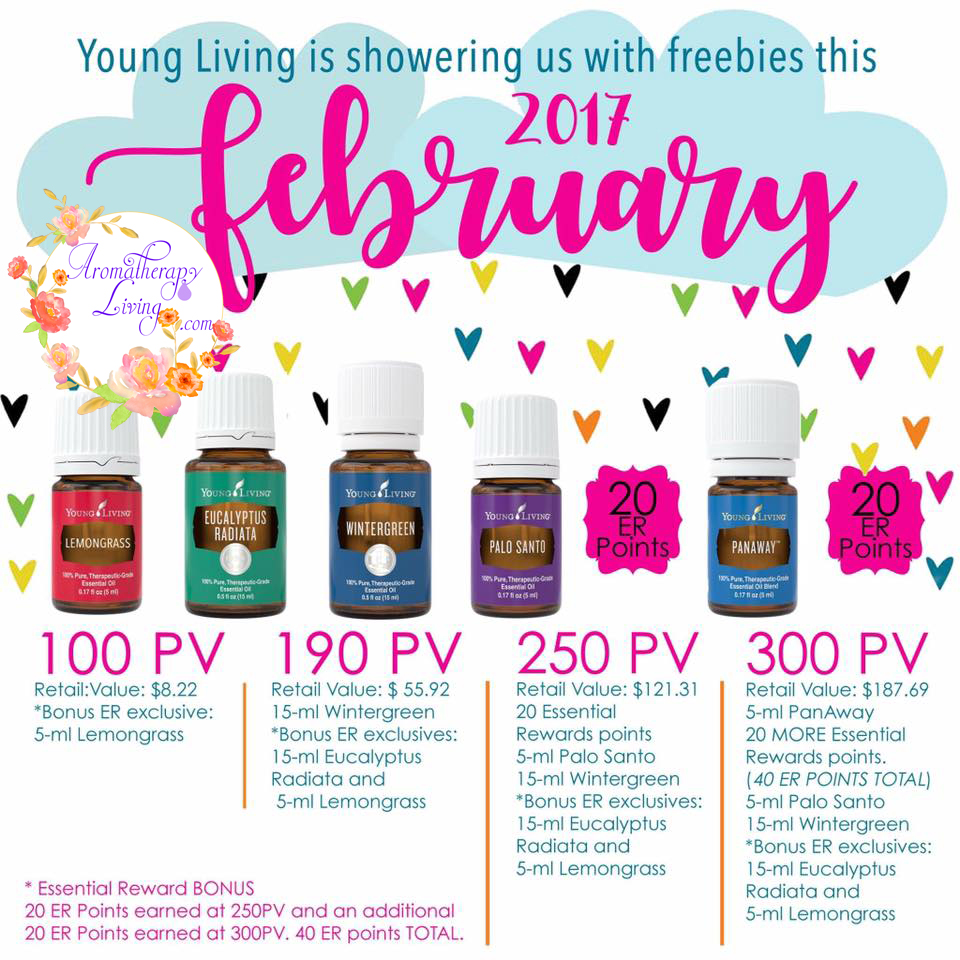 February Promos from Young Living